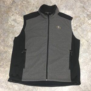 💙 men's wind cutter fleece vest with pen holder
